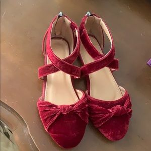 Shoes - Red velvet Shoes